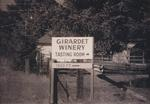 Entrance to Girardet Winery Tasting Room by Philippe Girardet