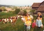 Girardet Family on Farm