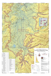 Map of Vineyards, Wineries, & Tasting Rooms of Southern Willamette Valley American Viticultural Area by The Maps Store, Inc.