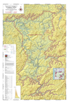 Map of Vineyards, Wineries, & Tasting Rooms of Umpqua Valley & Red Hill Douglas County American Viticultural Areas by The Maps Store, Inc.