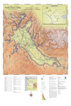 Map of Vineyards, Wineries, & Tasting Rooms of Snake River Valley American Viticultural Area by The Maps Store, Inc.