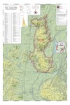 Map of Vineyards, Wineries, & Tasting Rooms of Eola-Amity Hills American Viticultural Area by The Maps Store, Inc.
