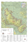 Map of Vineyards, Wineries, & Tasting Rooms of Chehalem Mountains & Ribbon Ridge American Viticultural Areas by The Maps Store, Inc.