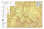 Map of Vineyards, Wineries, & Tasting Rooms of Rogue & Applegate Valleys American Viticultural Areas by The Maps Store, Inc.