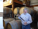 Bill Swain Barrel Tasting by Linfield College Archives