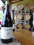 Phelps Creek Vineyards' Beehive Pinot Noir by Linfield College Archives