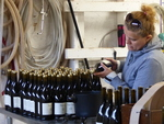 Bottling at Phelps Creek Vineyards by Linfield College Archives