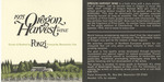 Ponzi Vineyards 1975 Oregon Harvest Wine Label