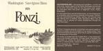 Ponzi Vineyards 1978 Washington Sauvignon Blanc Wine Label