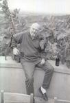 Dick Erath with Cat