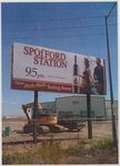 Spofford Station Billboard by Unknown