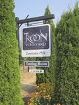 Entry Sign at Troon Vineyard