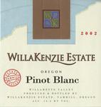 WillaKenzie Estate 2006 Willamette Valley Pinot Blanc Wine Label by WillaKenzie Estate