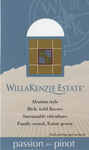 "Pinot Gris ""Shelf Talker"" by WillaKenzie Estate"