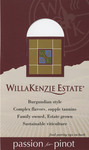 "Pinot Noir ""Shelf Talker"" by WillaKenzie Estate"