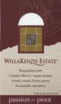 """Pinot Noir """"Shelf Talker"""" by WillaKenzie Estate"""