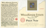 WillaKenzie Estate 1997 Willamette Valley Pinot Noir Wine Label by WillaKenzie Estate