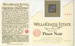 WillaKenzie Estate 1997 Willamette Valley Pinot Noir Wine Label