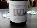 Elizabeth Chambers Cellar 2013 Winemaker's Cuvée Pinot Noir by Linfield College Archives
