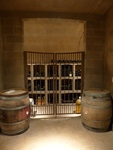 Alloro Vineyard Wine Cellar 02 by Linfield College Archives