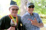Doc Wilson with Scott Wright