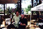 Doc Wilson with Jim Prosser