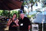 Doc Wilson with Luisa Ponzi