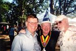 Doc Wilson with Michael Beard and Ron Wolf by Unknown