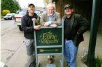 Doc Wilson with Jason Lett and Ken Friedenreich