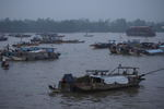 Dawn on the Mekong River