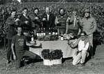 Founding Members of the Yamhill County Wineries Association by Tom Ballard