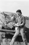 Bill Blosser in Vineyard, 1971